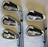 Mens Golf Set Complete Titanium Clubs & Bag Driver, Fairway Wood, Hybrid, Irons, Putter Right Handed