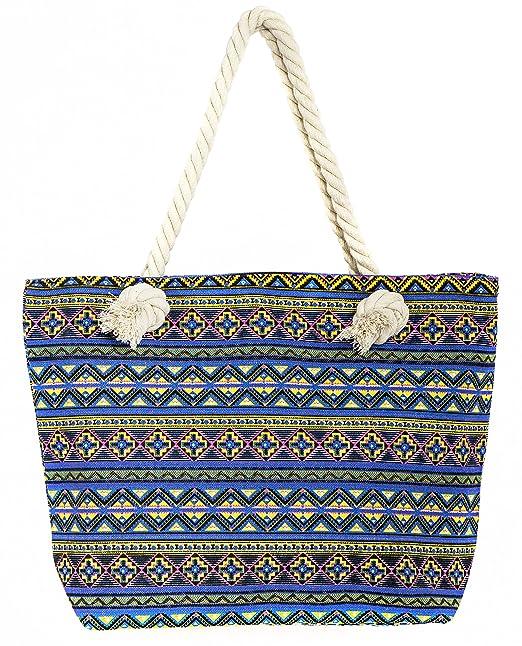 Tote bag Love at Beach Fuschia Ly0iVUp5