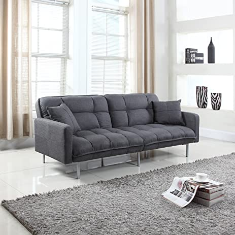 Amazon Divano Roma Furniture Collection Modern Plush Tufted
