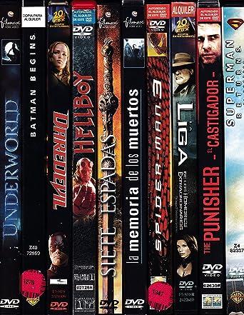 PACK 10 DVD Películas de segunda mano FANTASIA / AVENTURA / ACCION: Amazon.es: Cine y Series TV