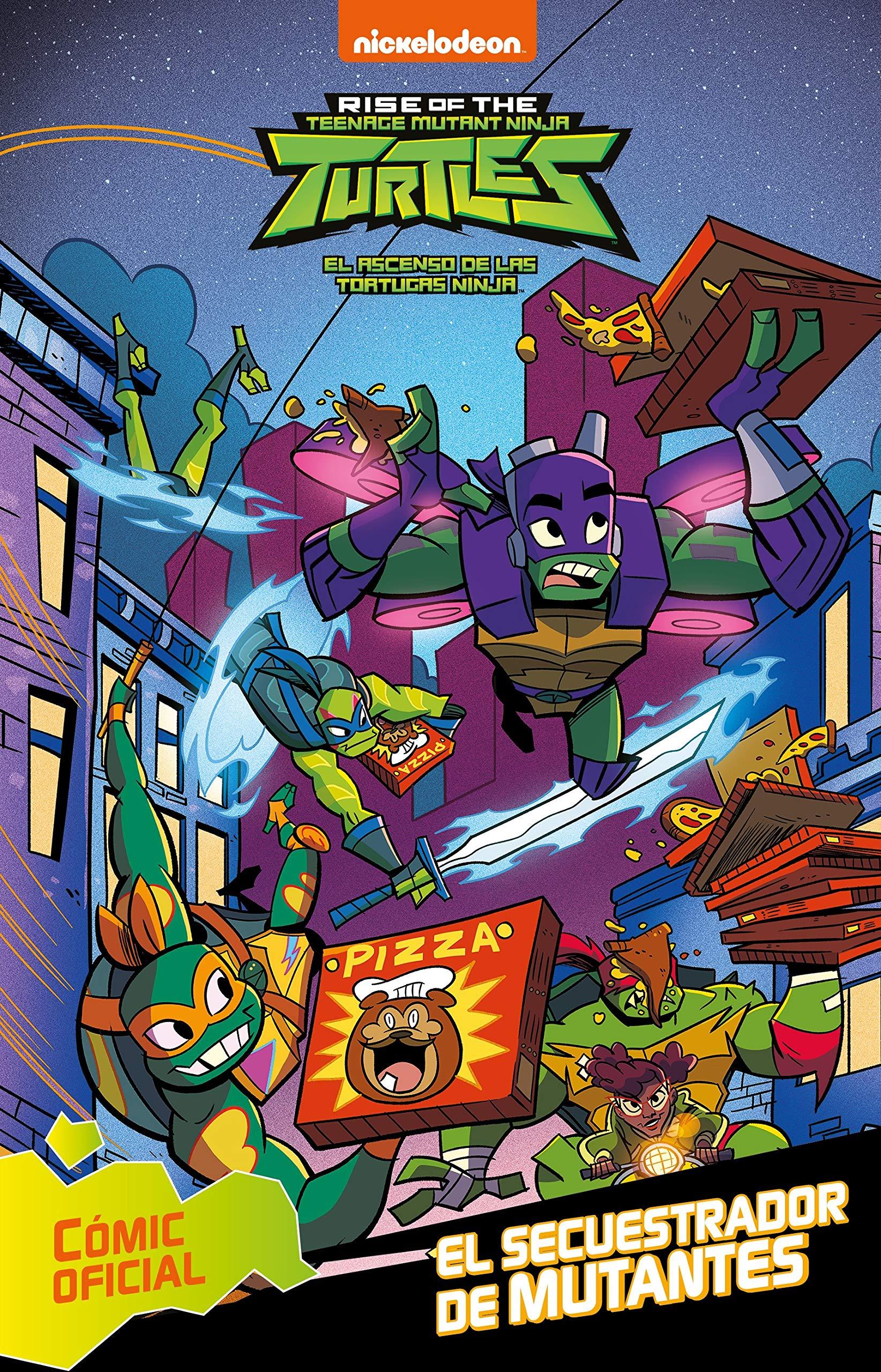 El secuestrador de mutantes (Tortugas Ninja. Cómic): Amazon ...