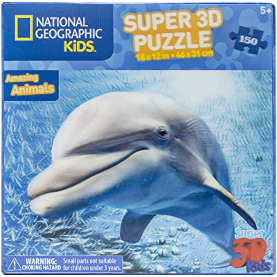 Zoofy International 3D Jigsaw Puzzle Dolphin: Arts, Crafts & Sewing