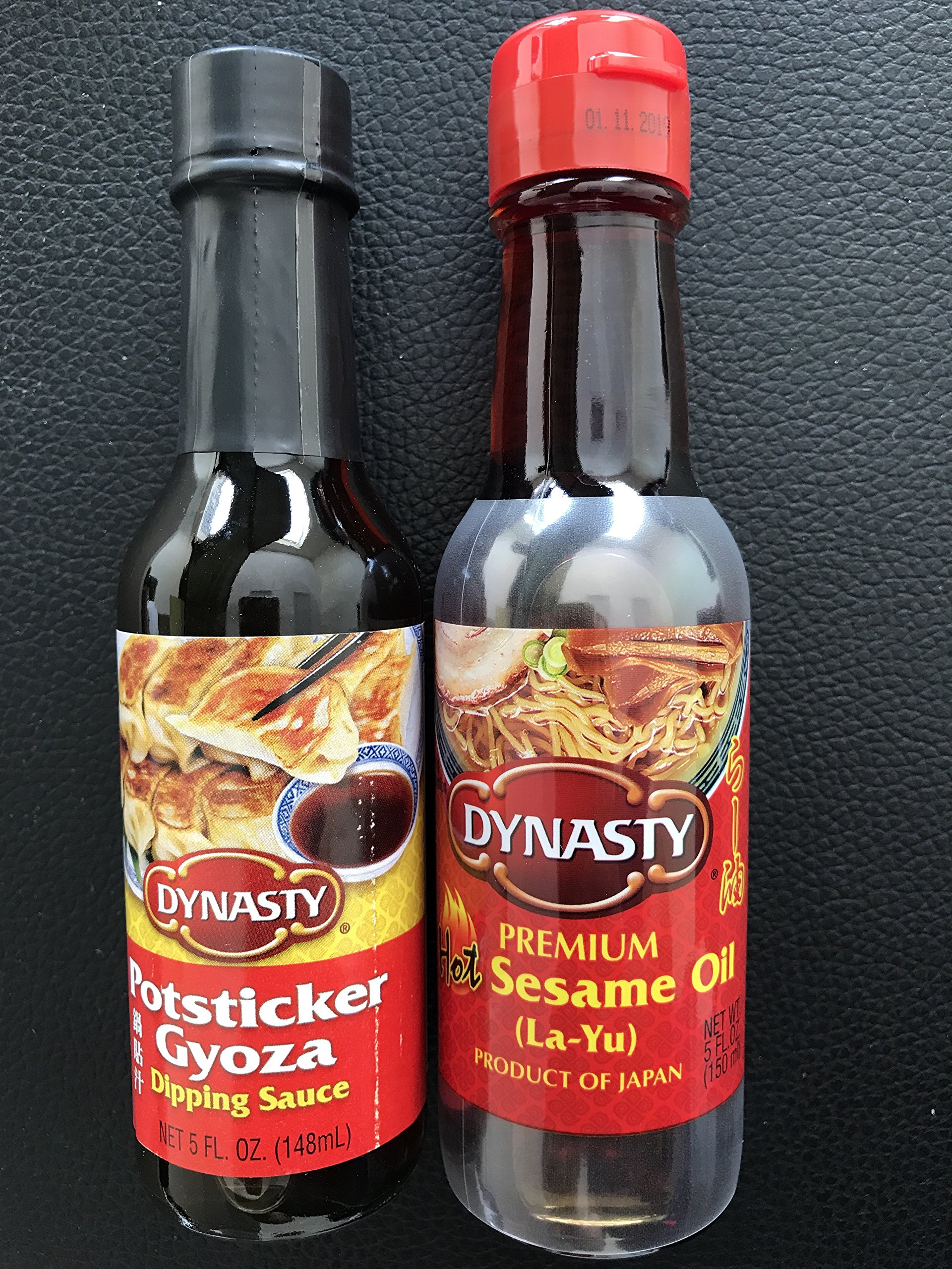 KC Commerce Dynasty Hot Sesame Oil & Gyoza Dipping Sauce Combo Pack
