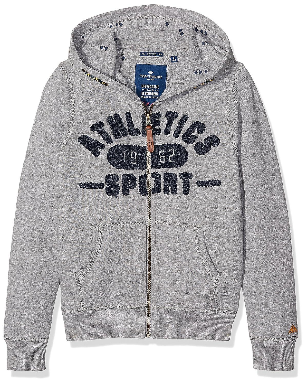 TOM TAILOR Jungen Athletics Sweatjacket Sweatshirt