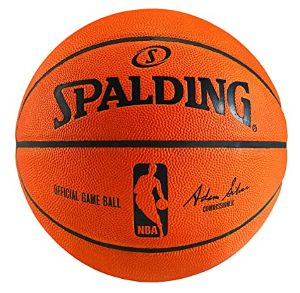 quality design 7b6f2 d1b7b Amazon.com   Spalding NBA Official Game Ball Basketball (2014) with Retail  Packaging   Womens Sized Basketballs   Sports   Outdoors