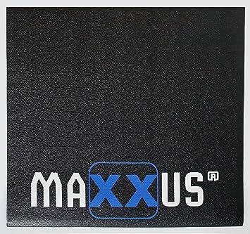 Maxxus Bodenschutzmatte für Fitnessgeräte Heimtrainer Rutschfest 160 x 90 cm