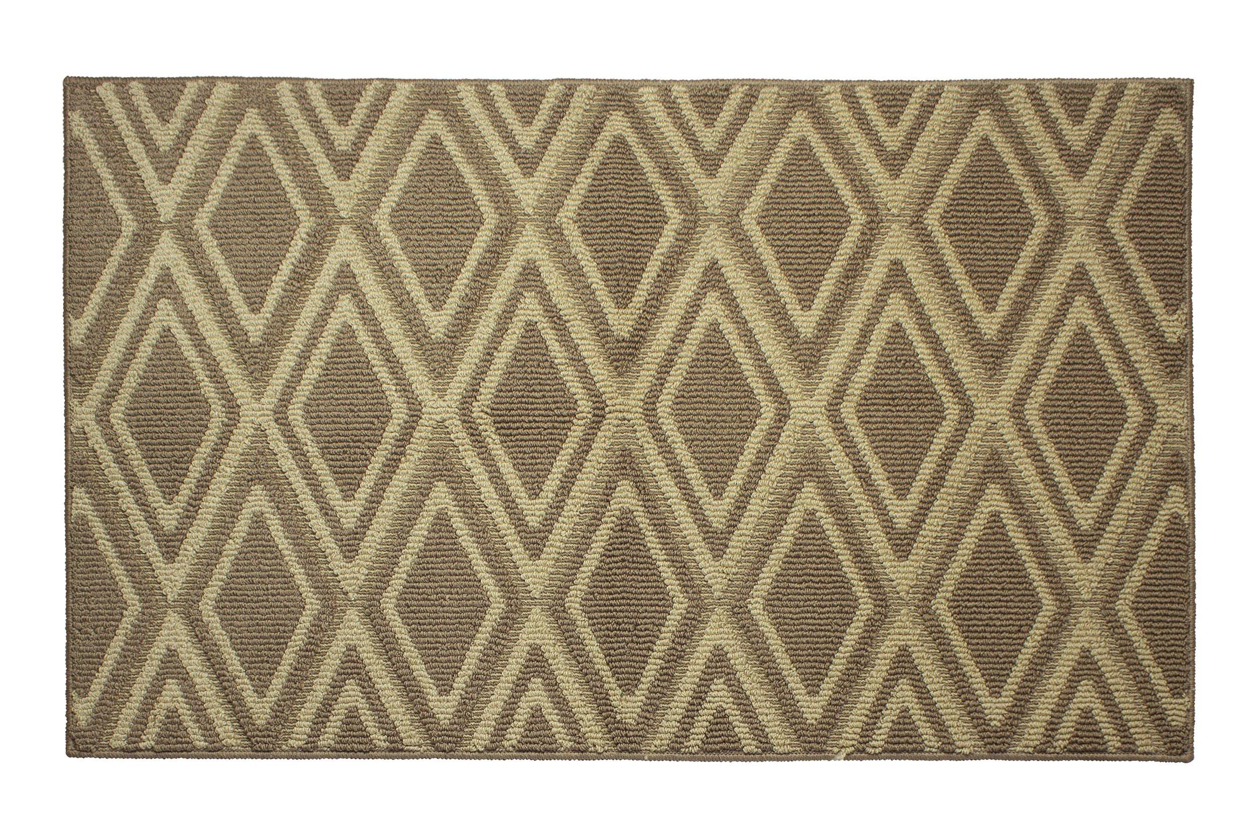 Jean Pierre All Loop Sean 28 x 48 in. Decorative Textured Accent Rug, Linen/Berber
