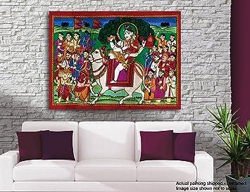 tamatina shiva leinwand malerei vrishavahana one die hat bull wie sein fahrzeug gemalde fur wohnzimmer gemalde