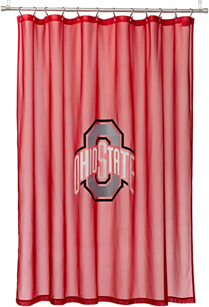 NCAA Bedroom Shower Curtain