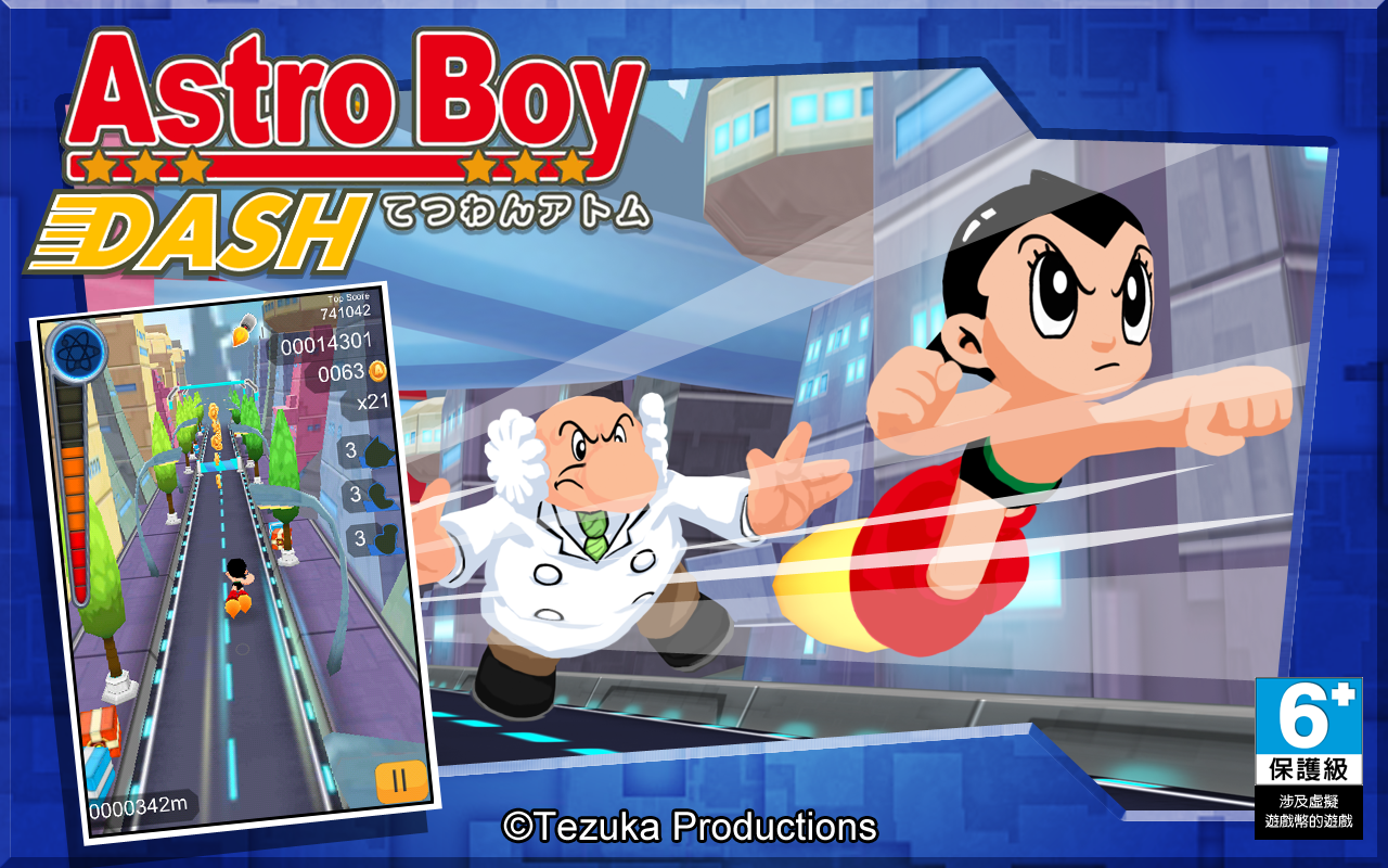 Amazoncom Astro Boy Dash Appstore For Android