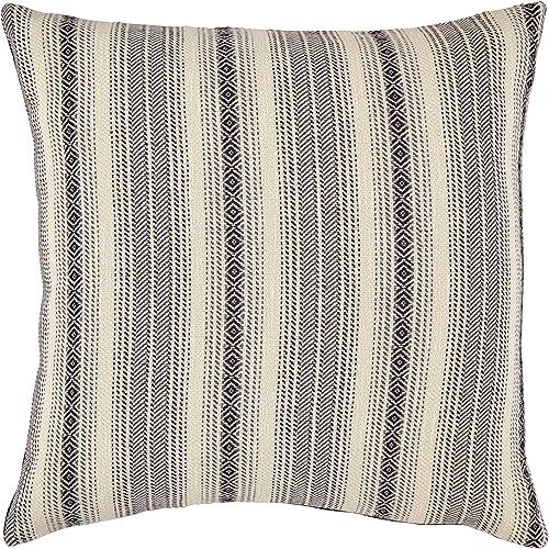 Amazon Brand Stone Beam Global Stripe Throw Pillow