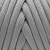 TOUGH-GRID 750lb Silver Gray Paracord/Parachute