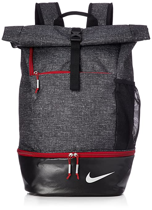 2c164e6147ff NIKE Sport Golf Backpack GA0262-010 - Black Silver Gym RED  Amazon ...