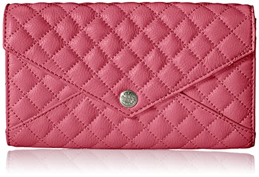 a88758d24b68 Amazon.com: QUILTED WALLET ON A CHAIN, BERRY: Clothing