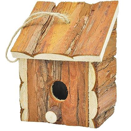 Merveilleux Gardirect Wood Decorative Birdhouse, Hanging Wooden Garden Bird House