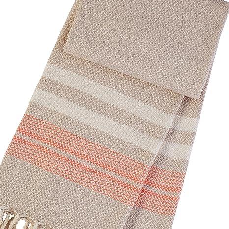 BAZAR Coffee/Orange toallas de baño - cuadros para el baño - toallas baño -