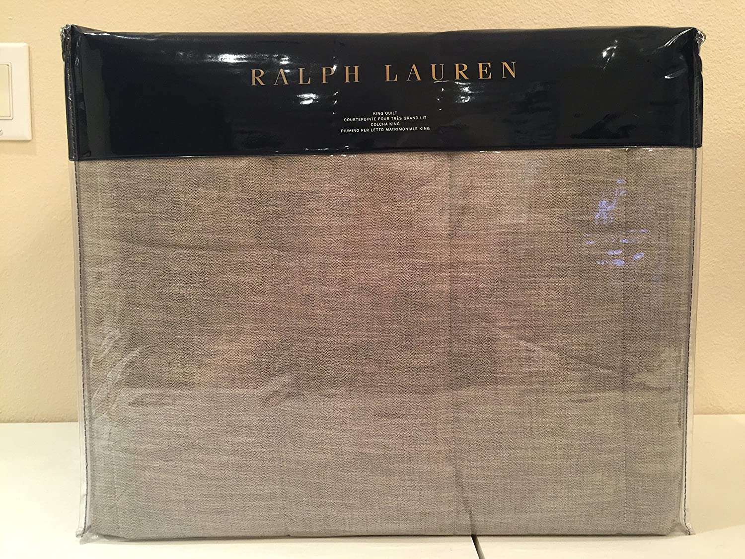 Amazon.com  Ralph Lauren Hoxton Arlington King Quilt  Home   Kitchen 752c7a12b494f