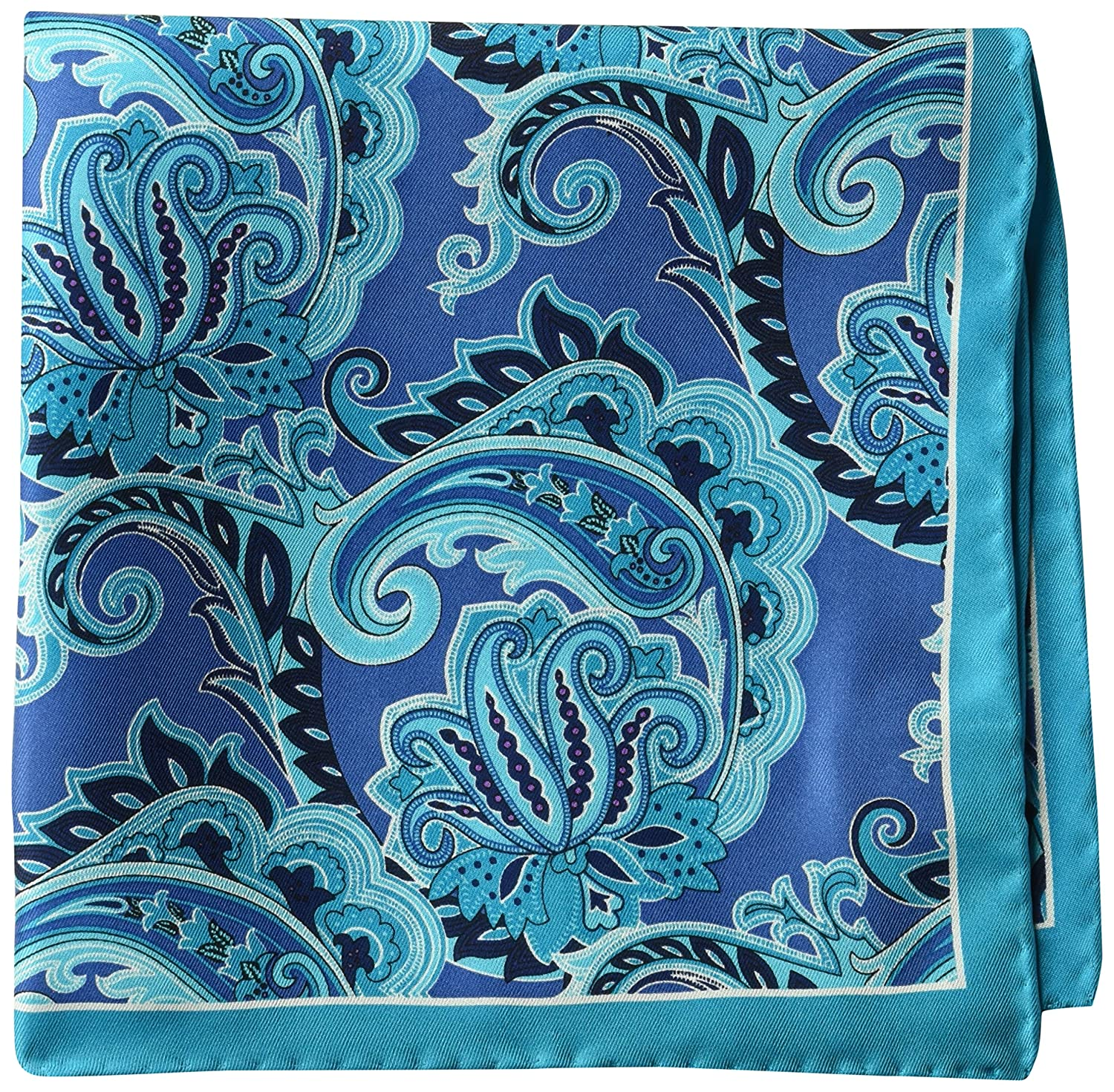 BUTTONED DOWN Mens Classic Silk Hand Rolled Pocket Square Brand