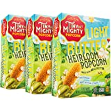 Tiny But Mighty Light Butter Heirloom Popcorn - for the Microwave, Pack of 3