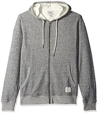 Lucky Brand Mens Lined Hoodley, Heather Grey, Small
