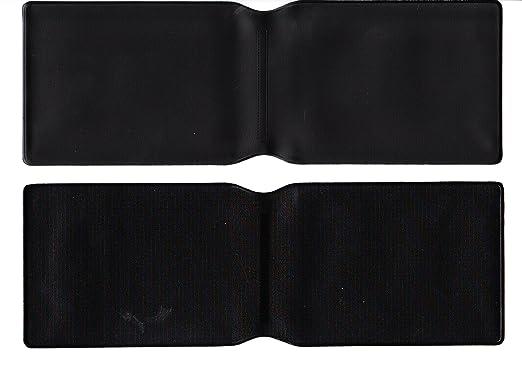 10 x plástico Negro Tarjeta Oyster Tipo Cartera/Cartera de ...