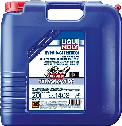 Liqui Moly 1408 aceite para caja de cambios: Amazon.es: Coche y moto