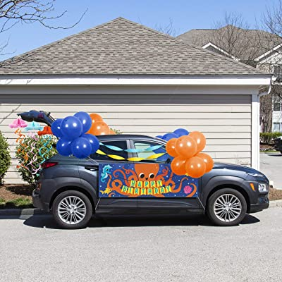 Ocean Party Birthday Parade Car Decorations Kit: Toys & Games