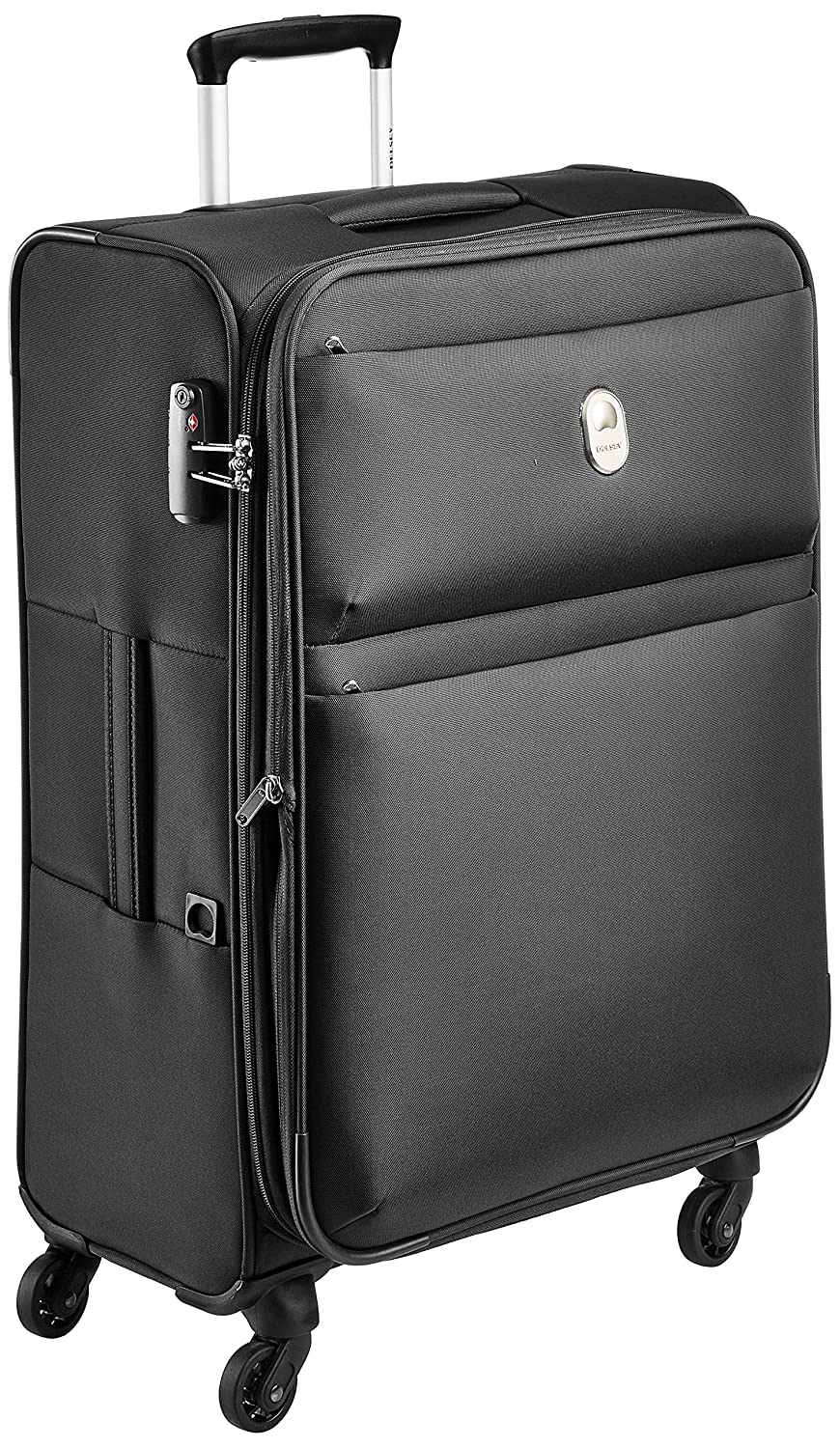 Delsey Joras Polyester 78 cms Black Soft Sided Suitcase