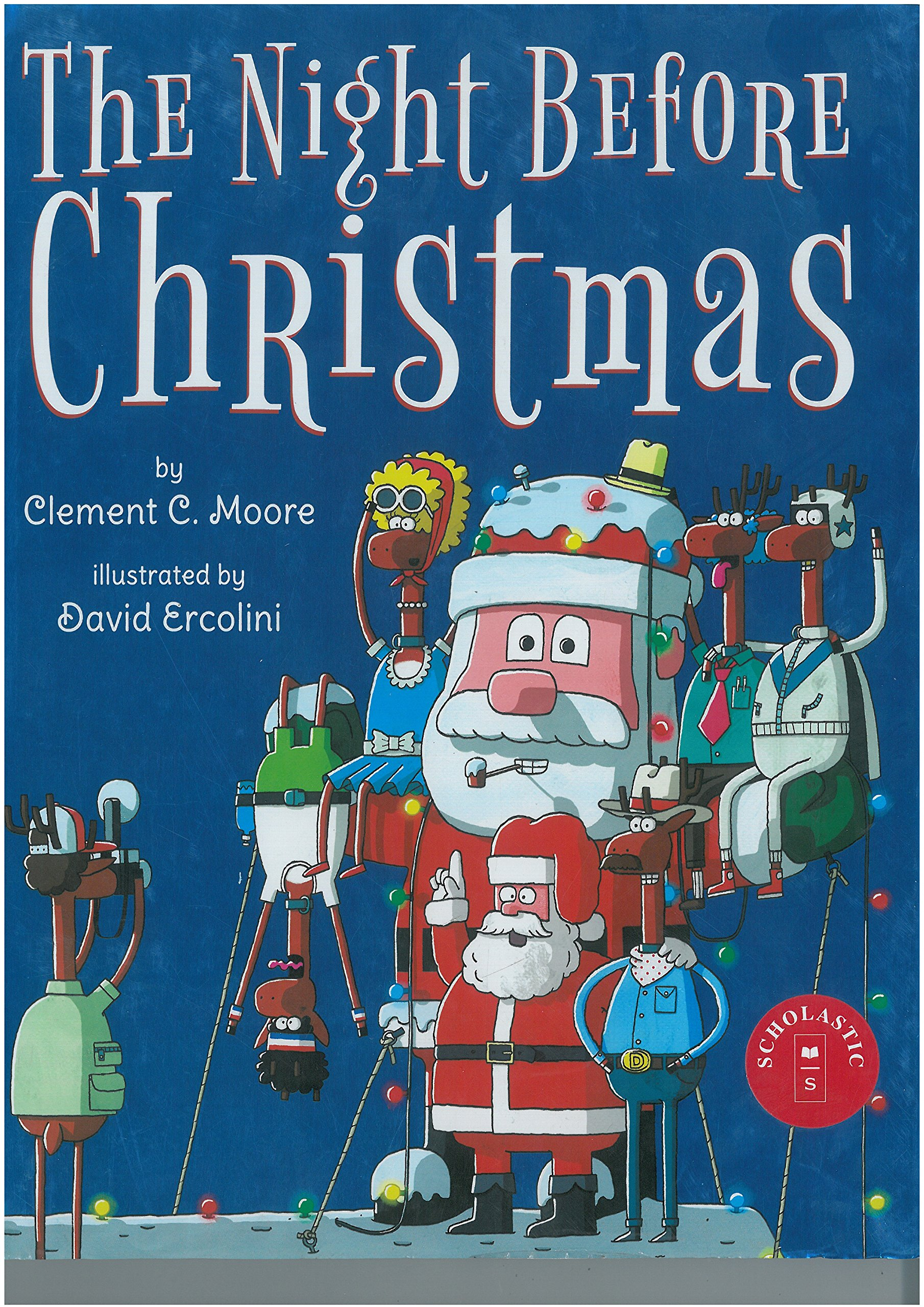 a87a59b1f00d4 Amazon.com  The Night Before Christmas (9780545391122)  Clement ...