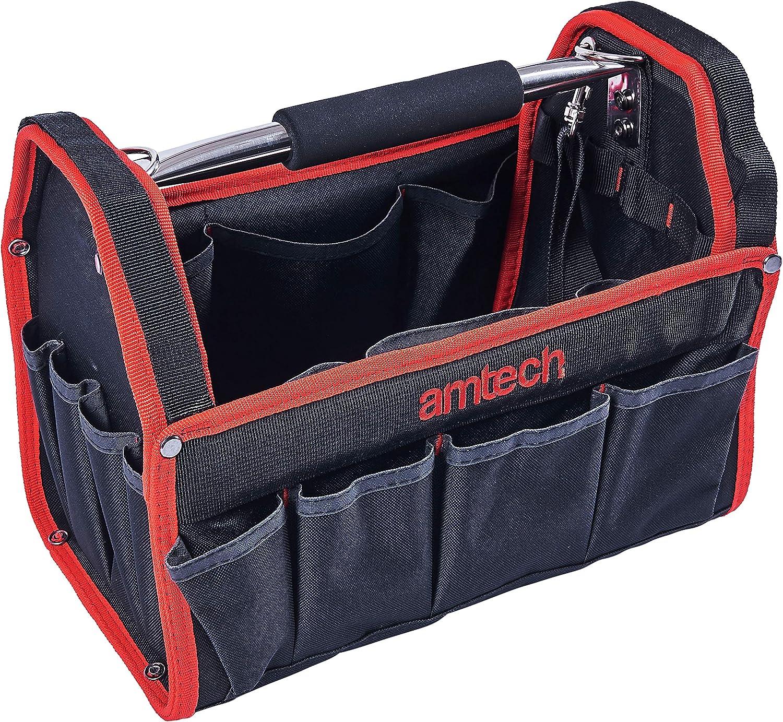 Am-Tech Werkzeugtasche Tragetasche 33 cm x 18,5 cm x 25 cm