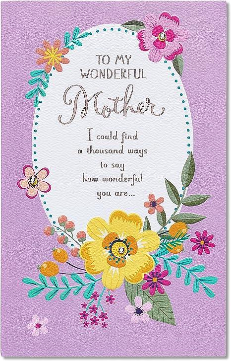 Amazing details American greetings Happy Birthday Mom