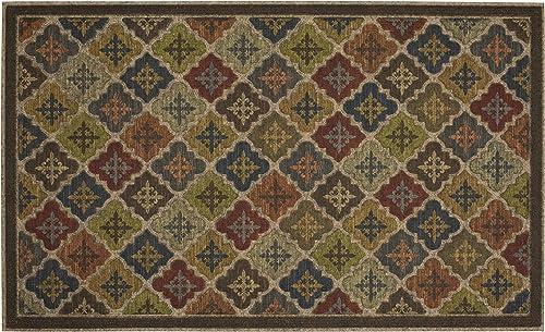 Mohawk Home Ornamental Arabian Impressions Door Mat, 1 6×2 6, Multi