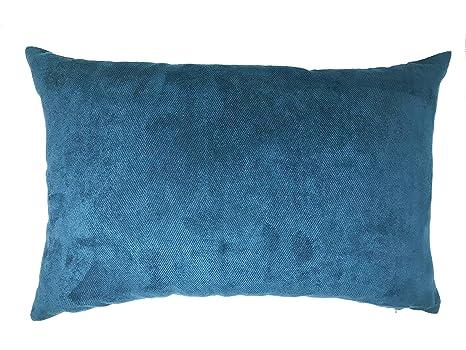 Lancashire Textiles - Funda de cojín (Piel sintética, 60 x ...