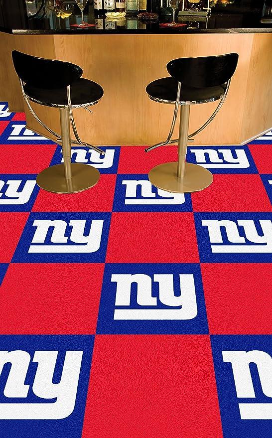a388787933f Fan Shop Fanmats New York Giants Team Carpet Tiles 8543
