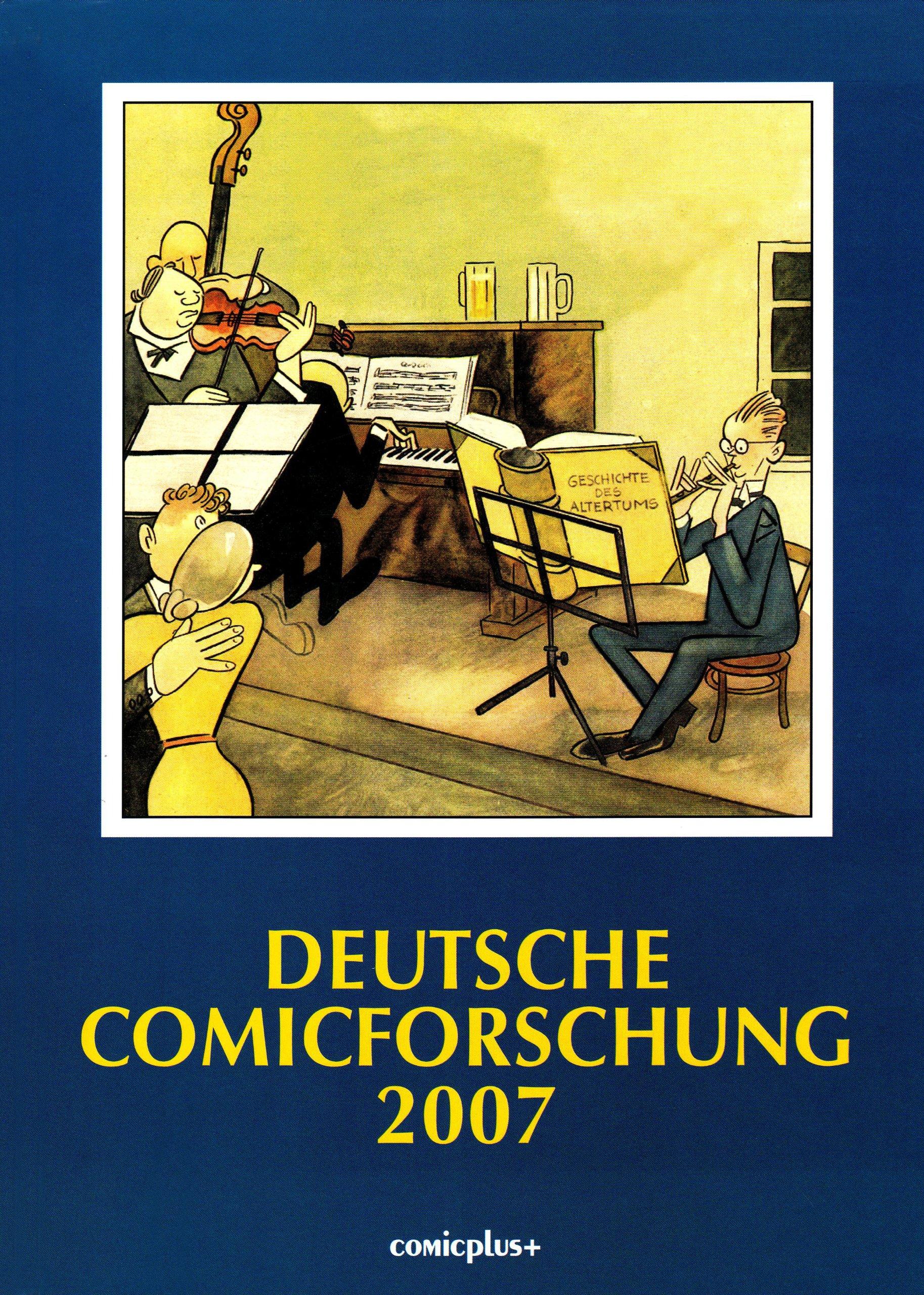 Deutsche Comicforschung 2007 Gebundenes Buch – Dezember 2006 Eckart Sackmann comicplus+ 3894741686 Belletristik