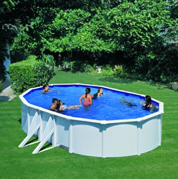 Gre 7020021070 Above Ground Pools Frame Oval Amazonde Garten