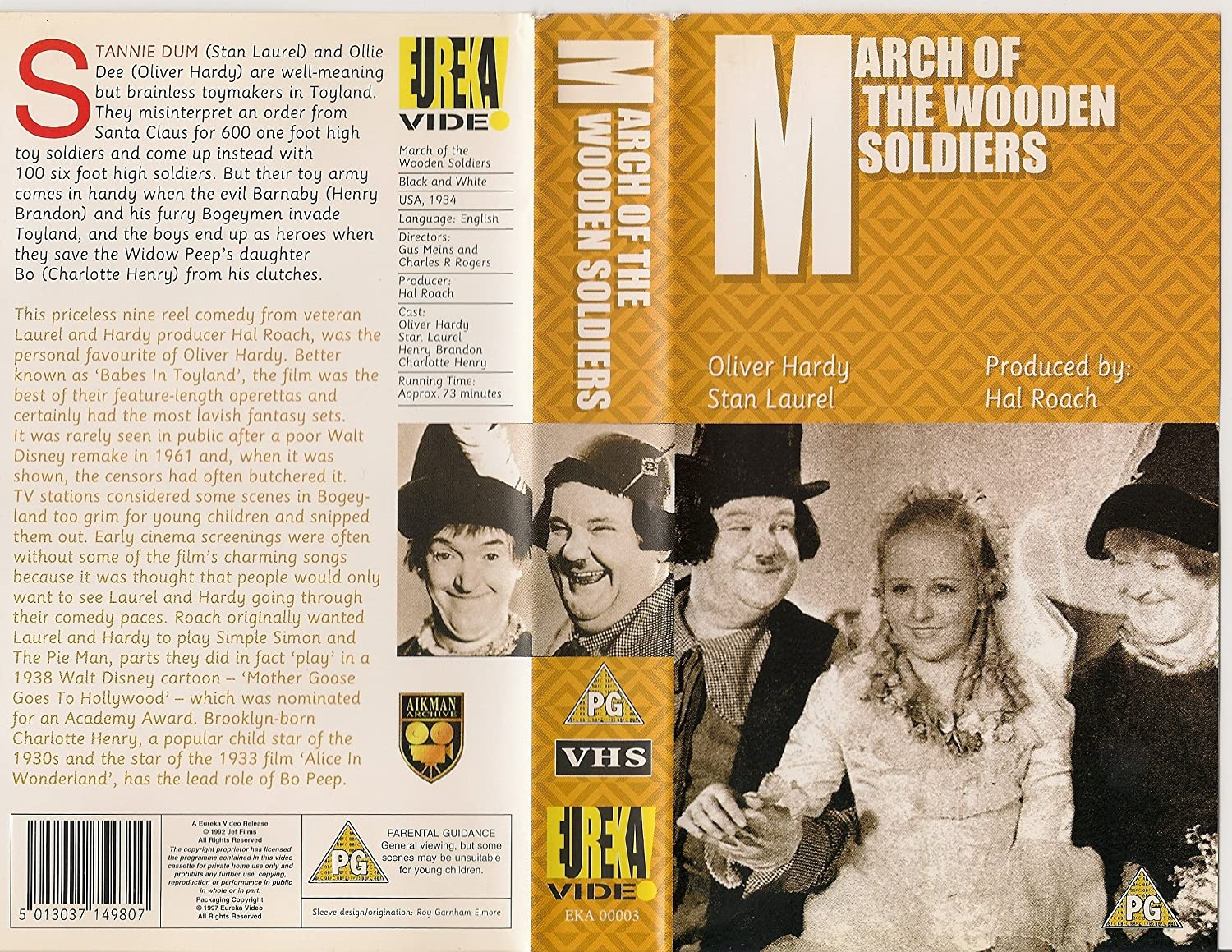 Laurel And Hardy Collection: March Of The Wooden Soldiers