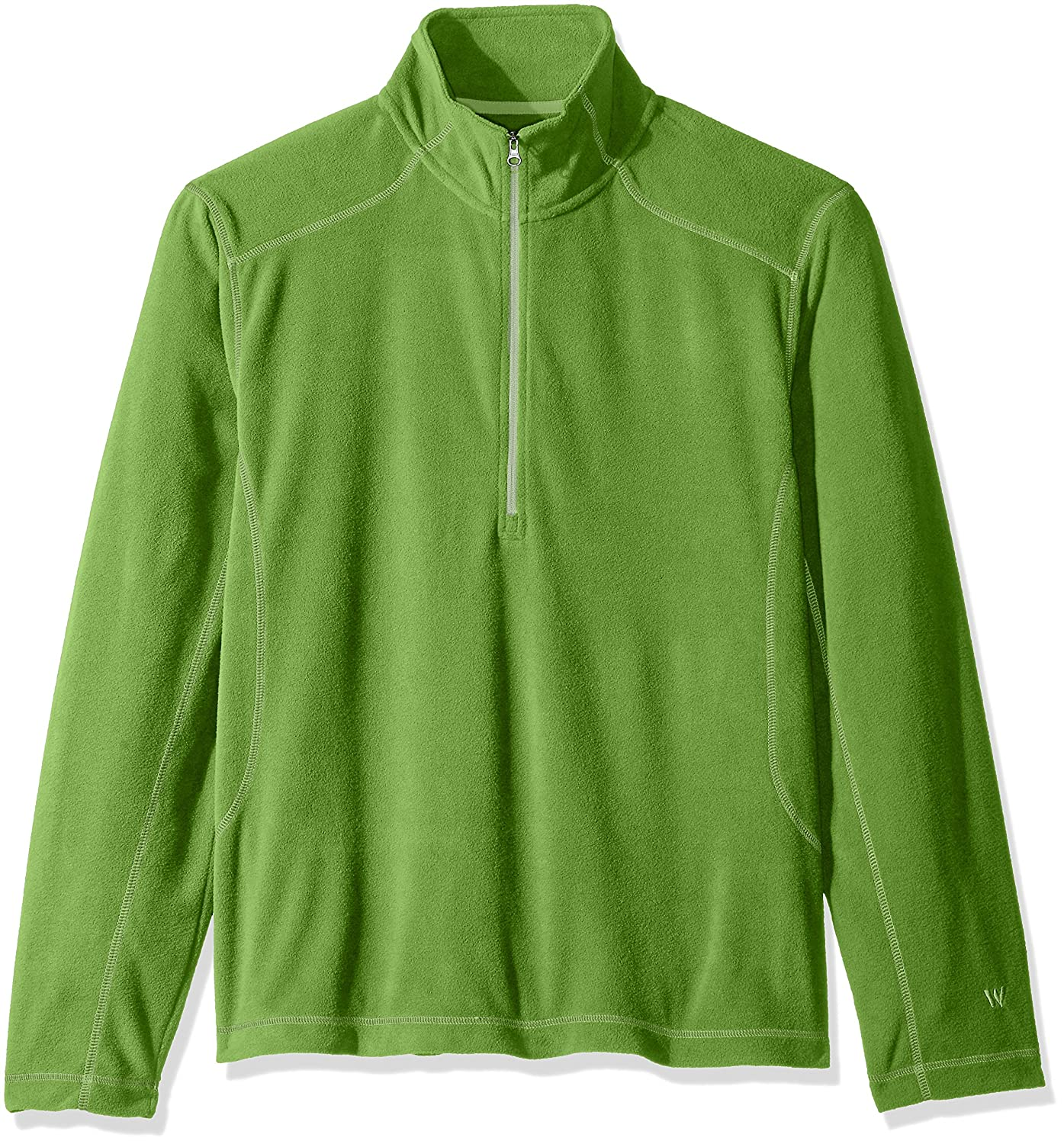 North Face Men's TKA 100 Glacier Quarter Zip - hiking clothing