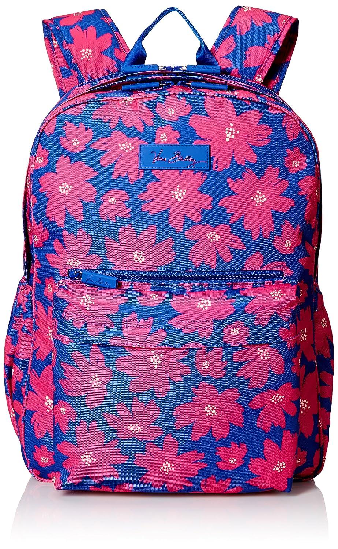 Amazon Vera Bradley Womens Lighten Up Grande Laptop Backpack Art Poppies Shoes