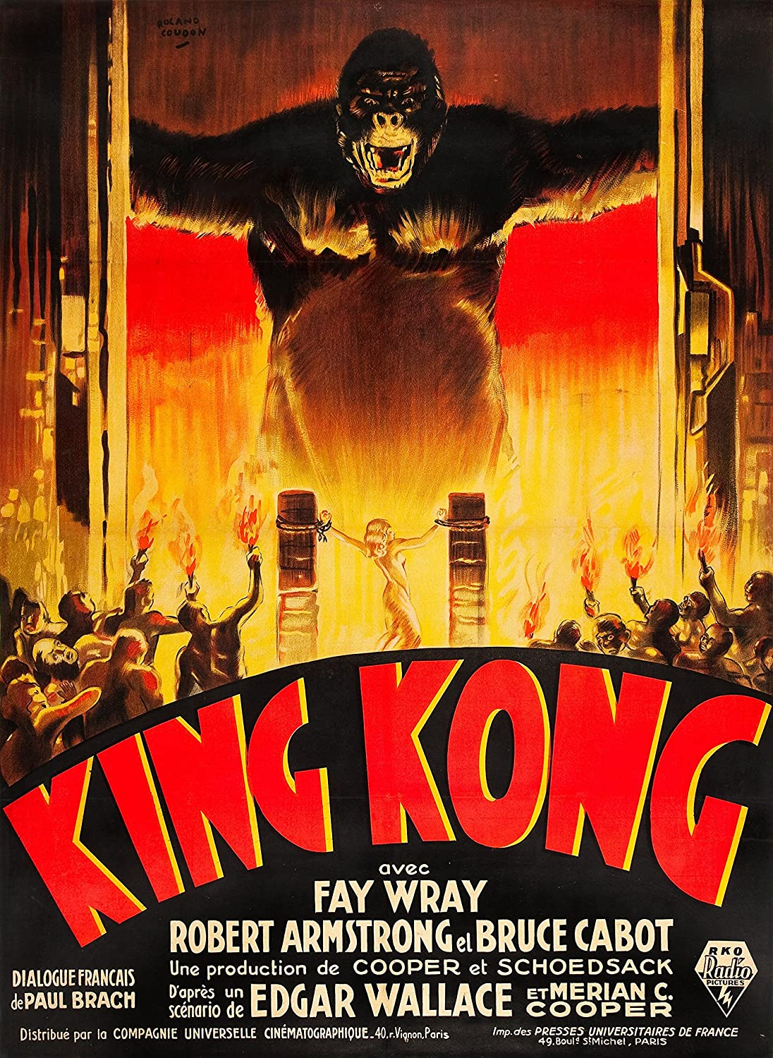 Movie Posters King Kong (1933) 24x36 inches