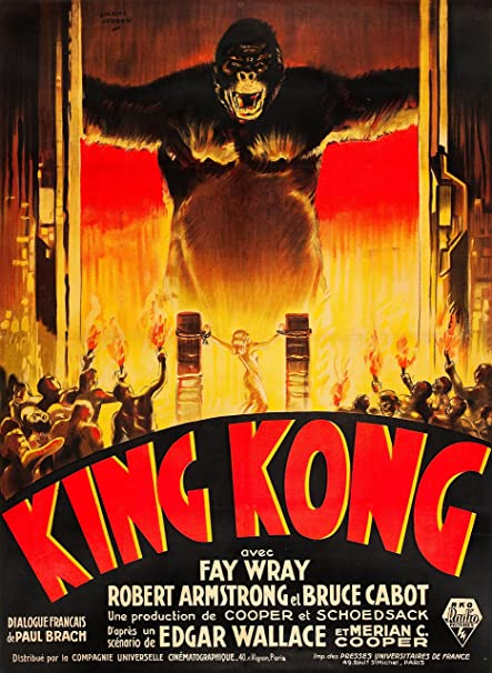 Amazon Com Movie Posters King Kong 1933 24x36 Inches