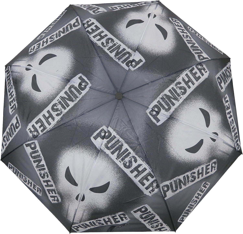 Marvel The punisher Black Adult Compact Umbrella