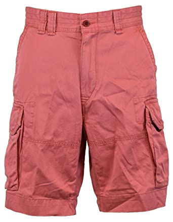 Polo Ralph Lauren Mens Colored Pocket Khaki Shorts | Amazon.com