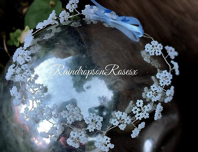 Bridal Hair Vine-Tiara-Headband-Flower Crown Daisy Chain, for Bride ...