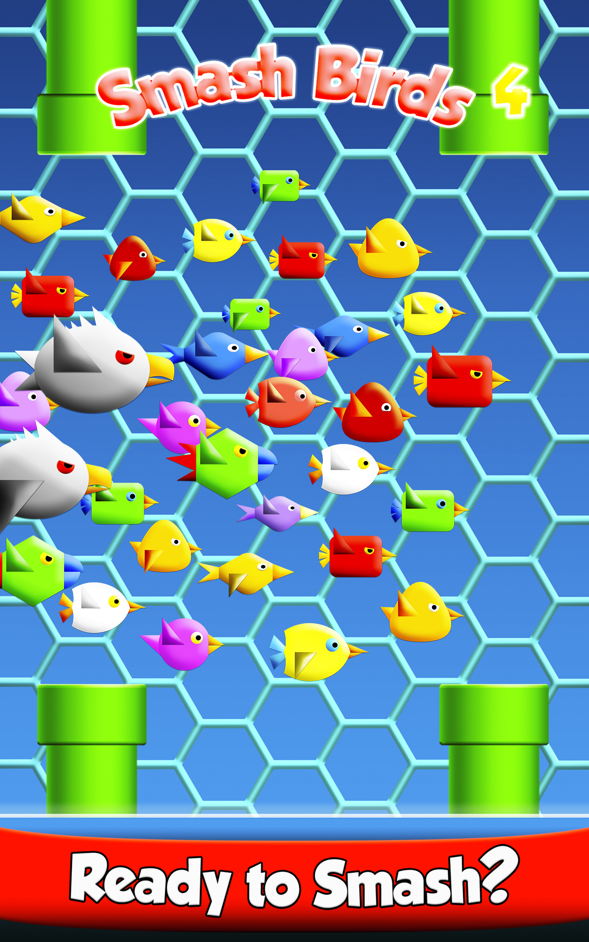 Smash Birds 4: Action Free Cool Game, Free Addictive App (Pocked Edition PE)