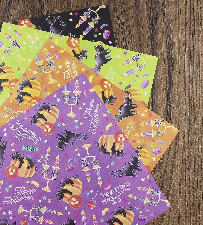 Cherry Blossom Pattern Chiyogami Premium Quality Made in Japan Japanese Sakura Origami Pair Set