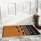 """Home & More 120861729 Man's Best Friend Doormat, 17"""" x 29"""" x 0.60"""", Multicolor"""