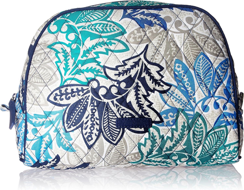 Vera Bradley Large Zip Cosmetic, Signature Cotton