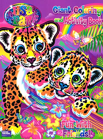 Amazon.com: Lisa Frank Coloring Books 2 Asstd.96 pgs.: Toys & Games