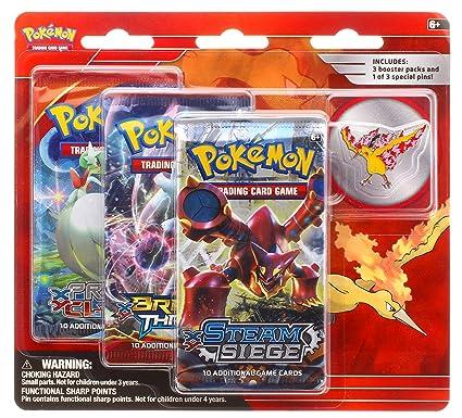 Amazoncom Pokemon Tcg Legendary Birds Blister Pack Containing 3